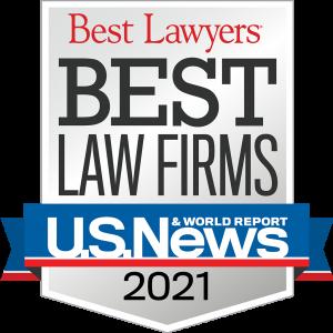 """U.S. News Best Lawyers® award of """"Best Law Firm"""